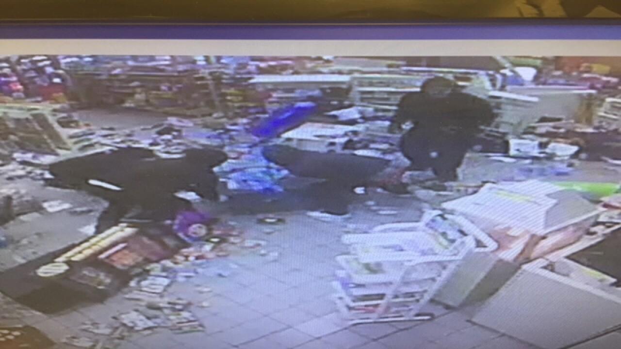 gas station clerk quits job after smash and grab at macedonia bp