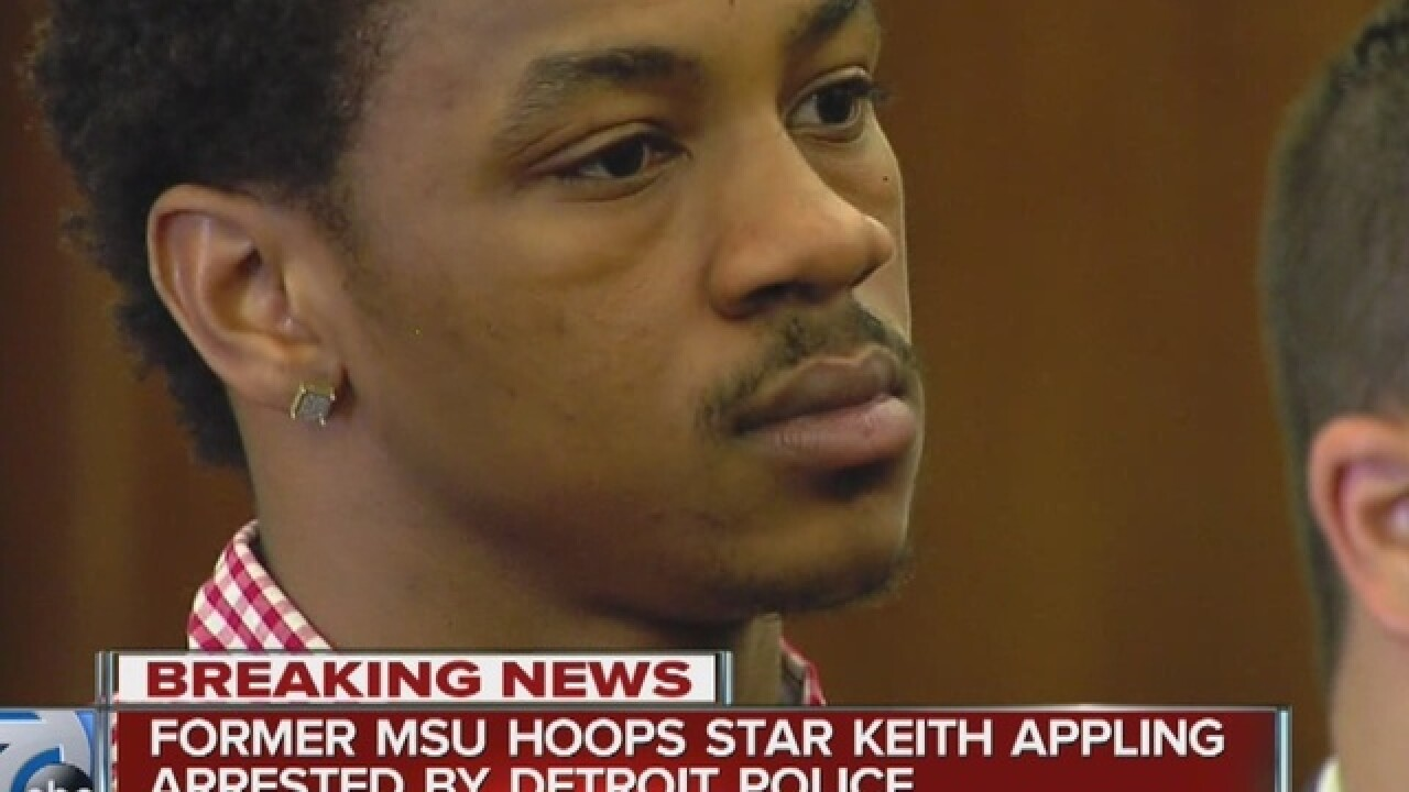 Keith Appling arrested again after traffic stop