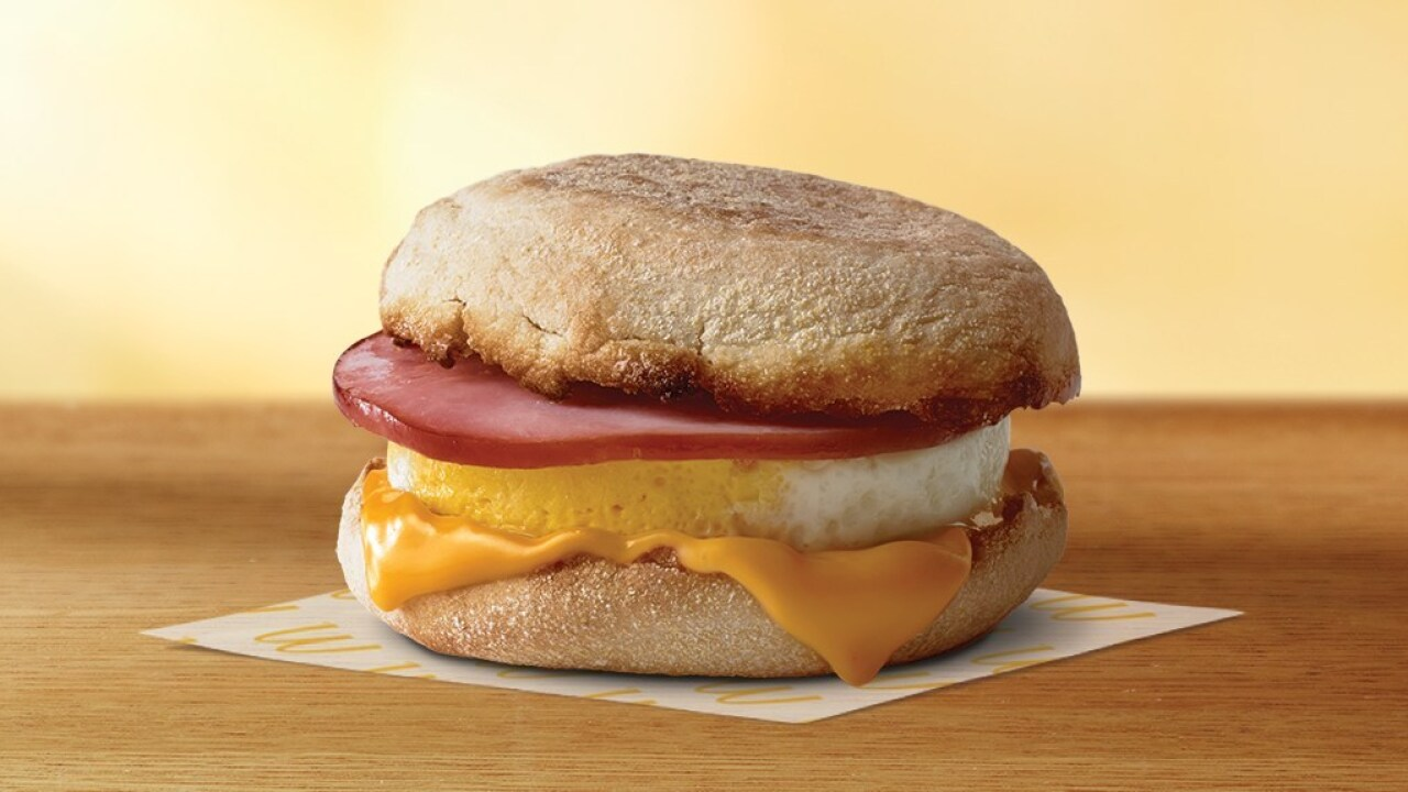 McDonald's offering free McMuffin sandwiches on March 2