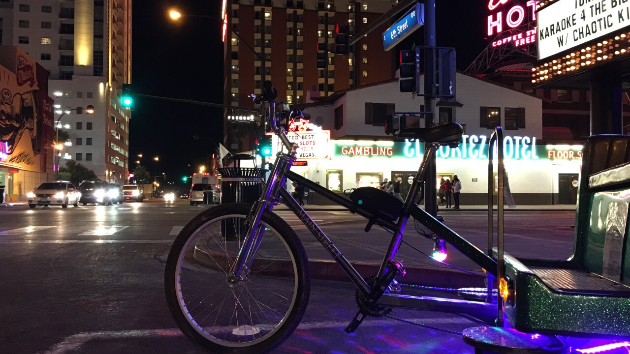 A Las Vegas business owner says there could be a pedicab revolution if city leaders make some changes, including letting passengers use marijuana while on board.