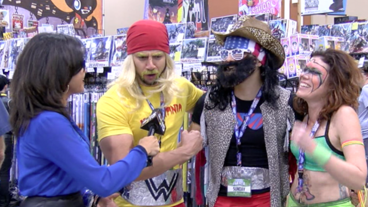 OUCH! Painfully awkward interviews at Comicon