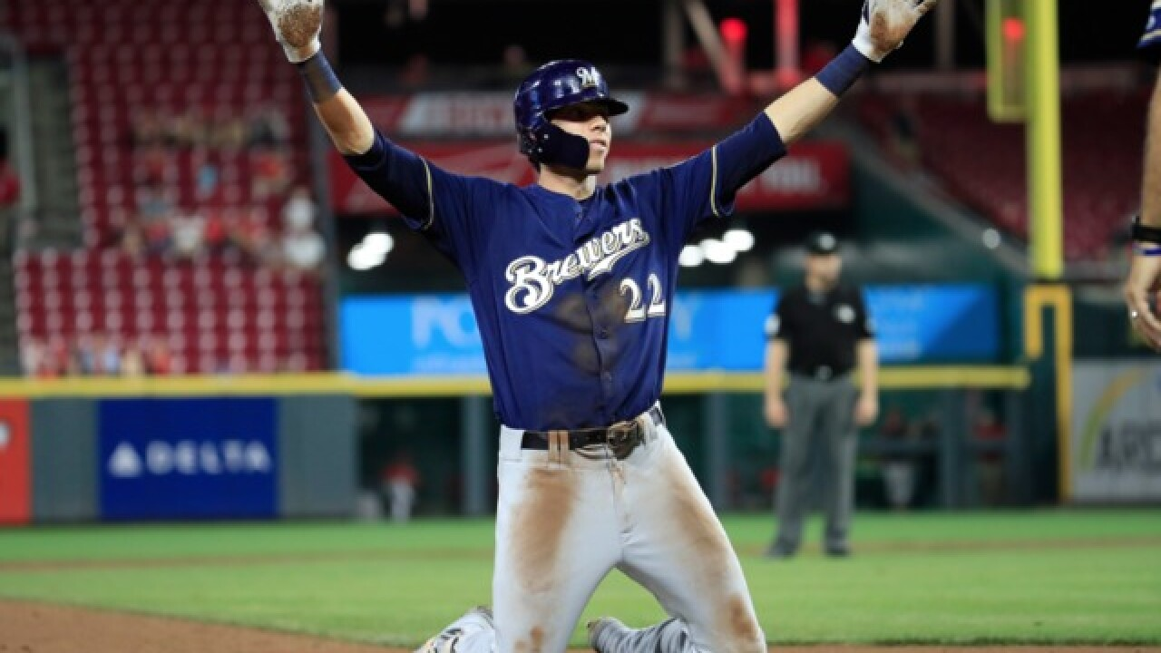 The best plays from Christian Yelich's MVP season