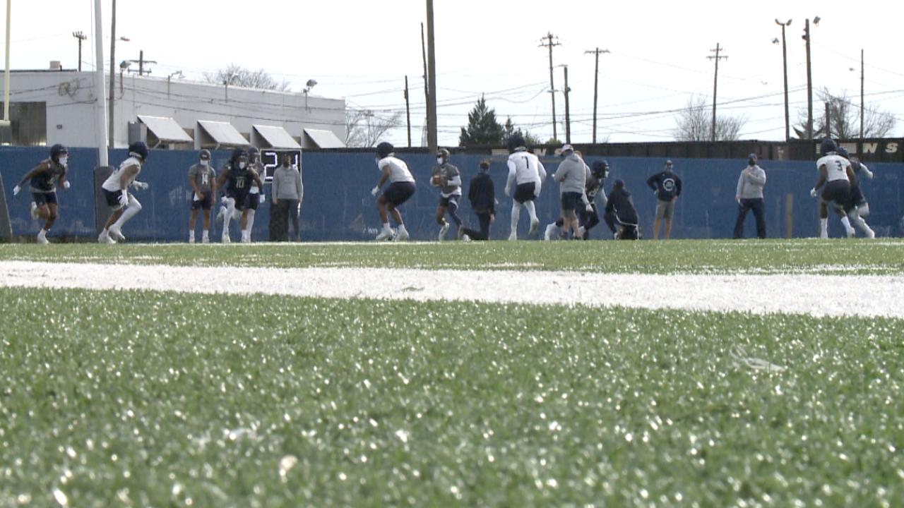 ODU football spring practice
