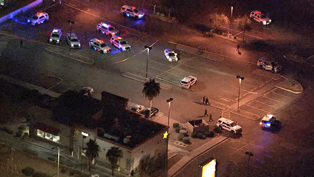 Police situation at 43rd Avenue and Camelback Road