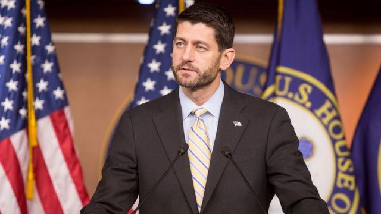 Paul Ryan says he will vote for Donald Trump