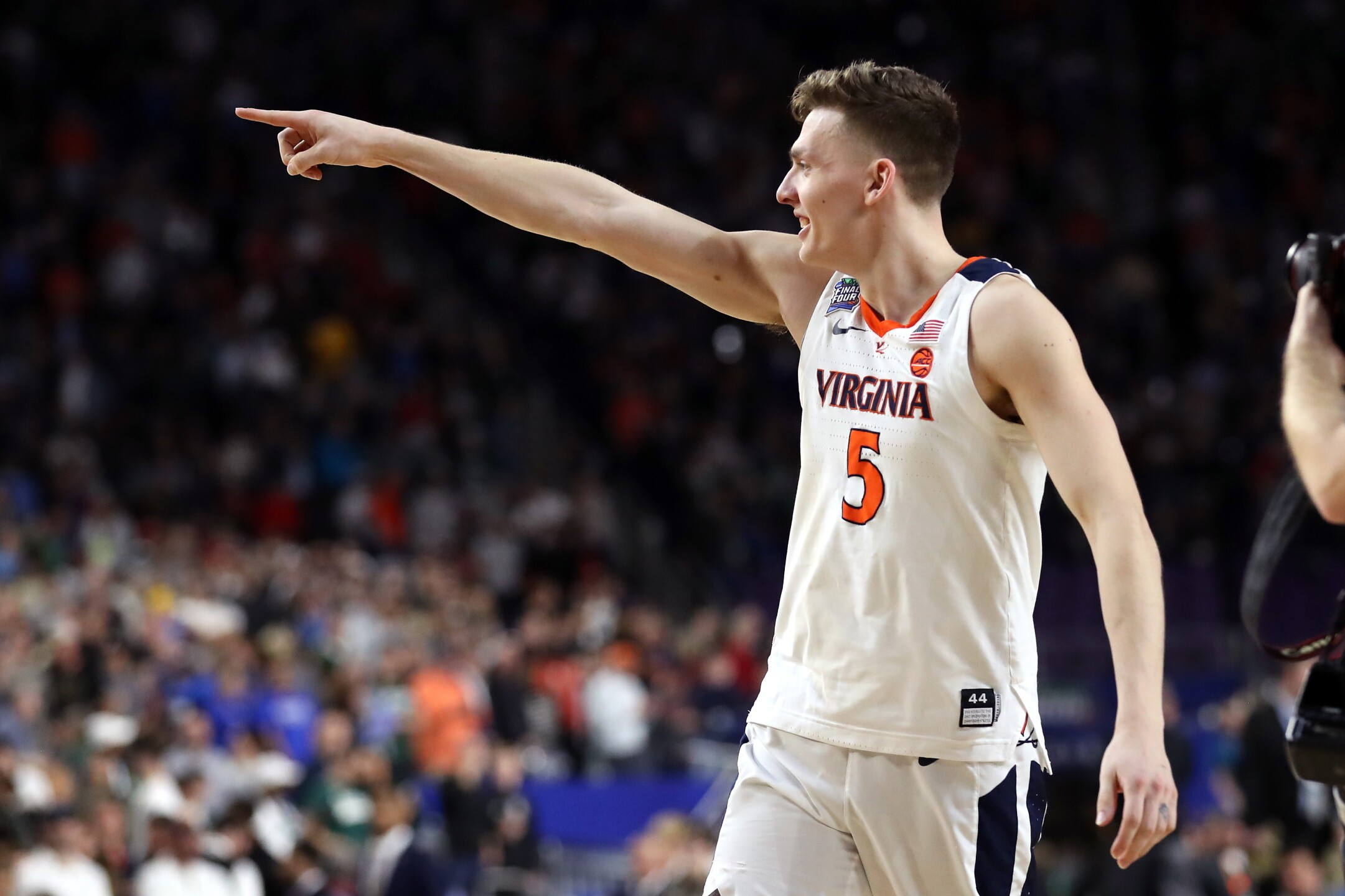 Photos: Cardiac Cavaliers: Kyle Guy's free throws send Virginia to first national title game