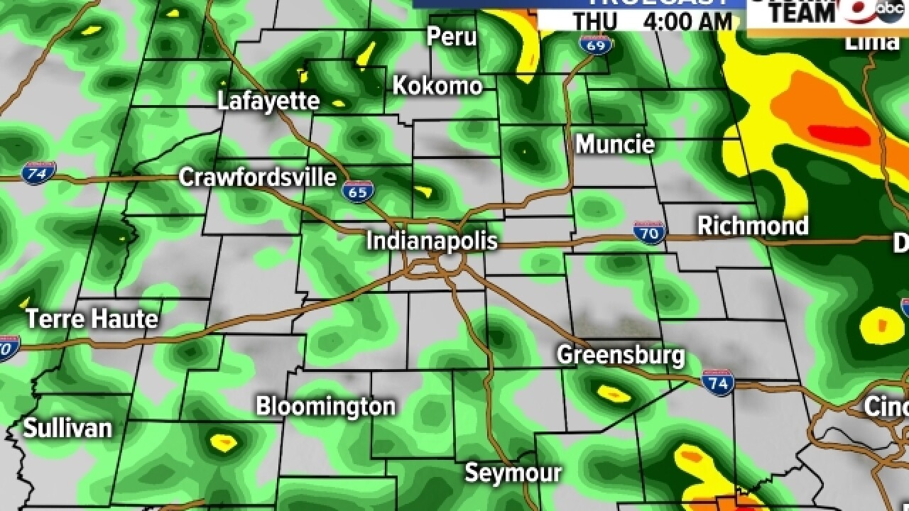 TIMELINE: Check out when the storms will roll in