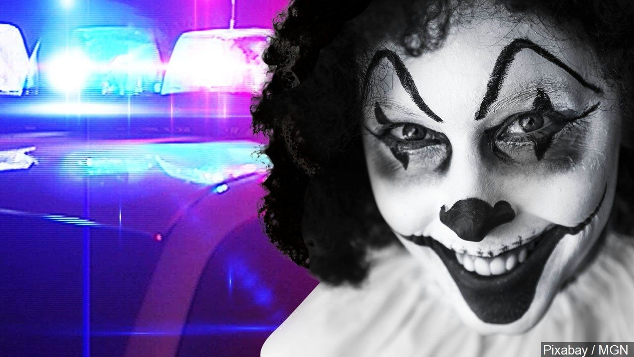 Police investigate another creepy clown threat