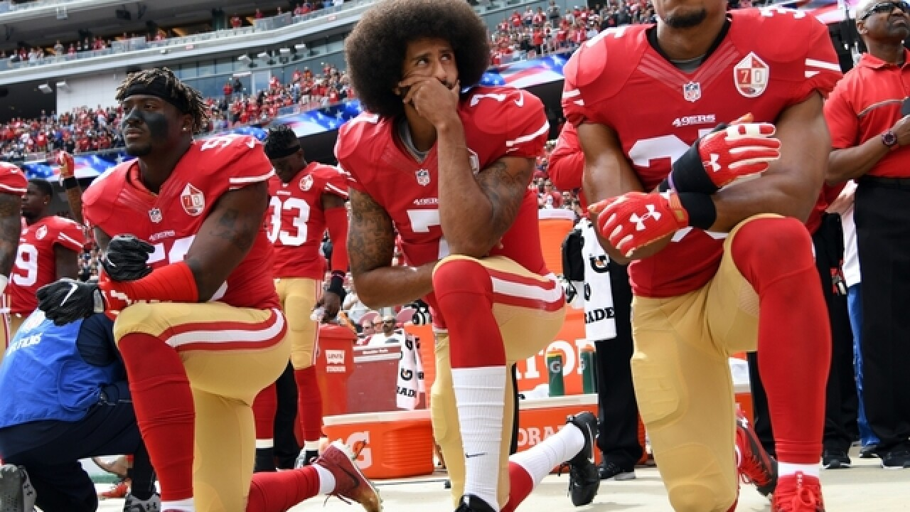 NFL says it's already suspending its new national anthem policy