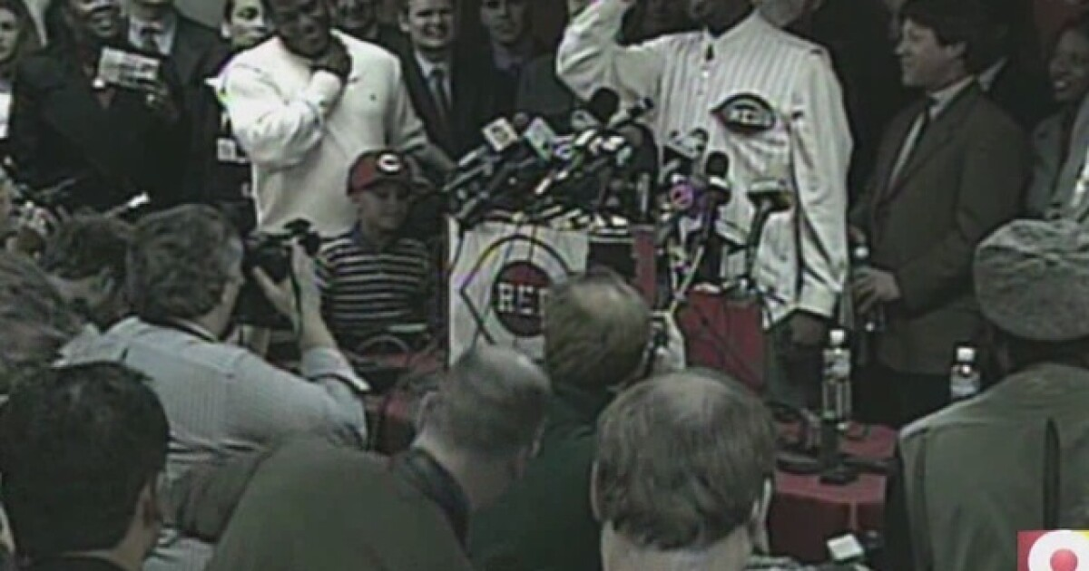 0dd5a5f2cb Reds' hopes, expectations were high when Ken Griffey Jr. came home