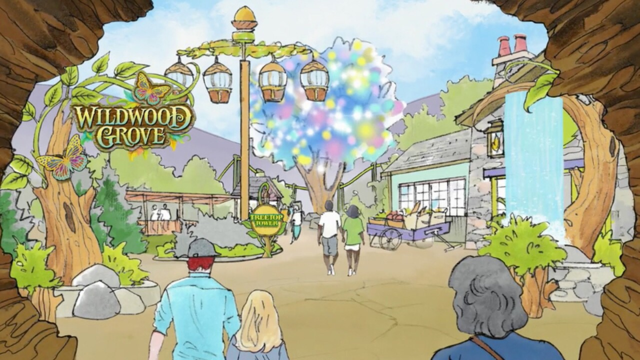 Dollywood Announces $37 Million Expansion Called 'Wildwood Grove'