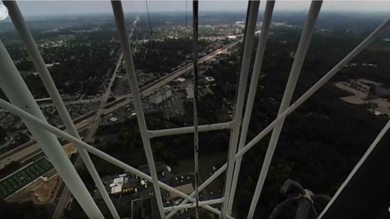 360º View: Climb to the top of WXYZ's antenna tower for beautiful view of SE Michigan