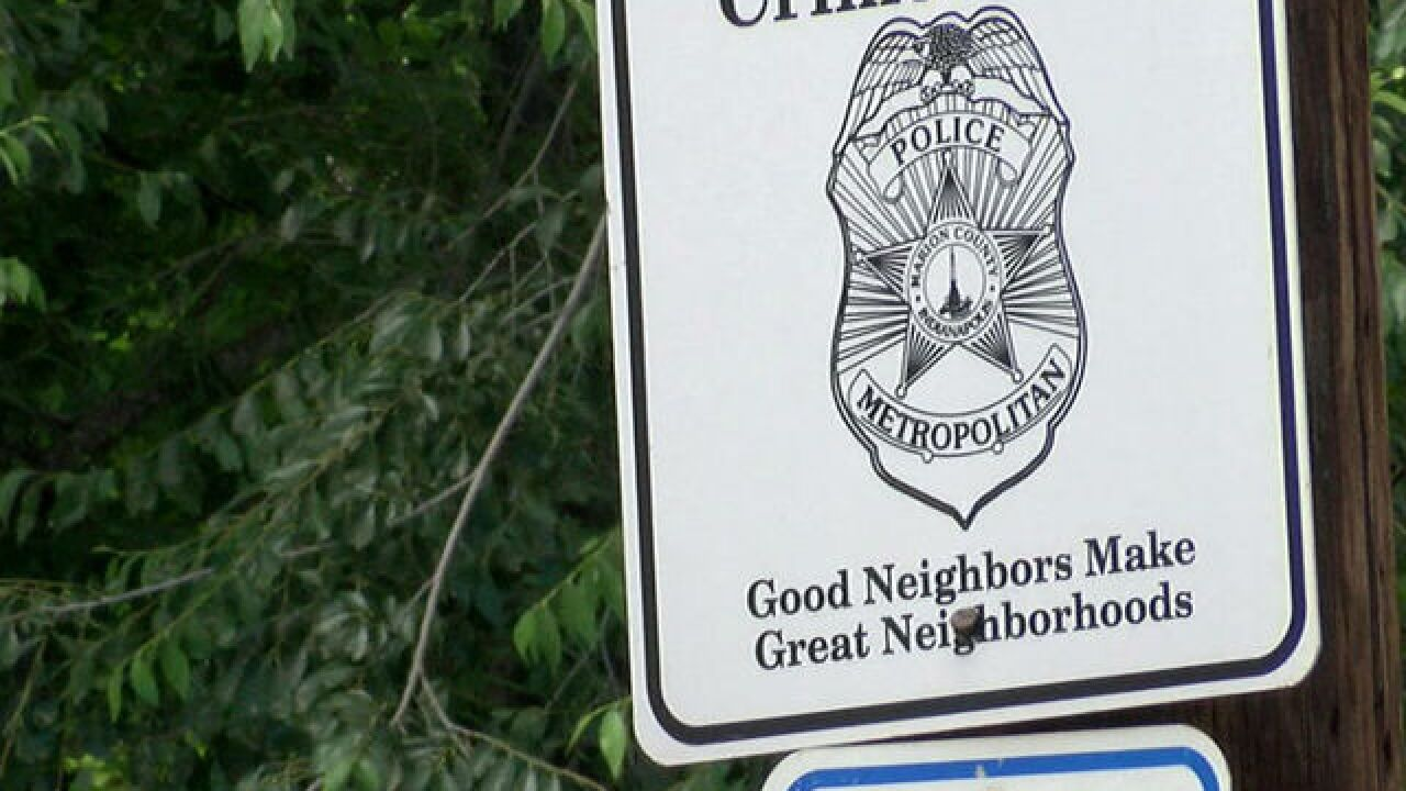 Neighborhood starts Broad Ripple crime watch