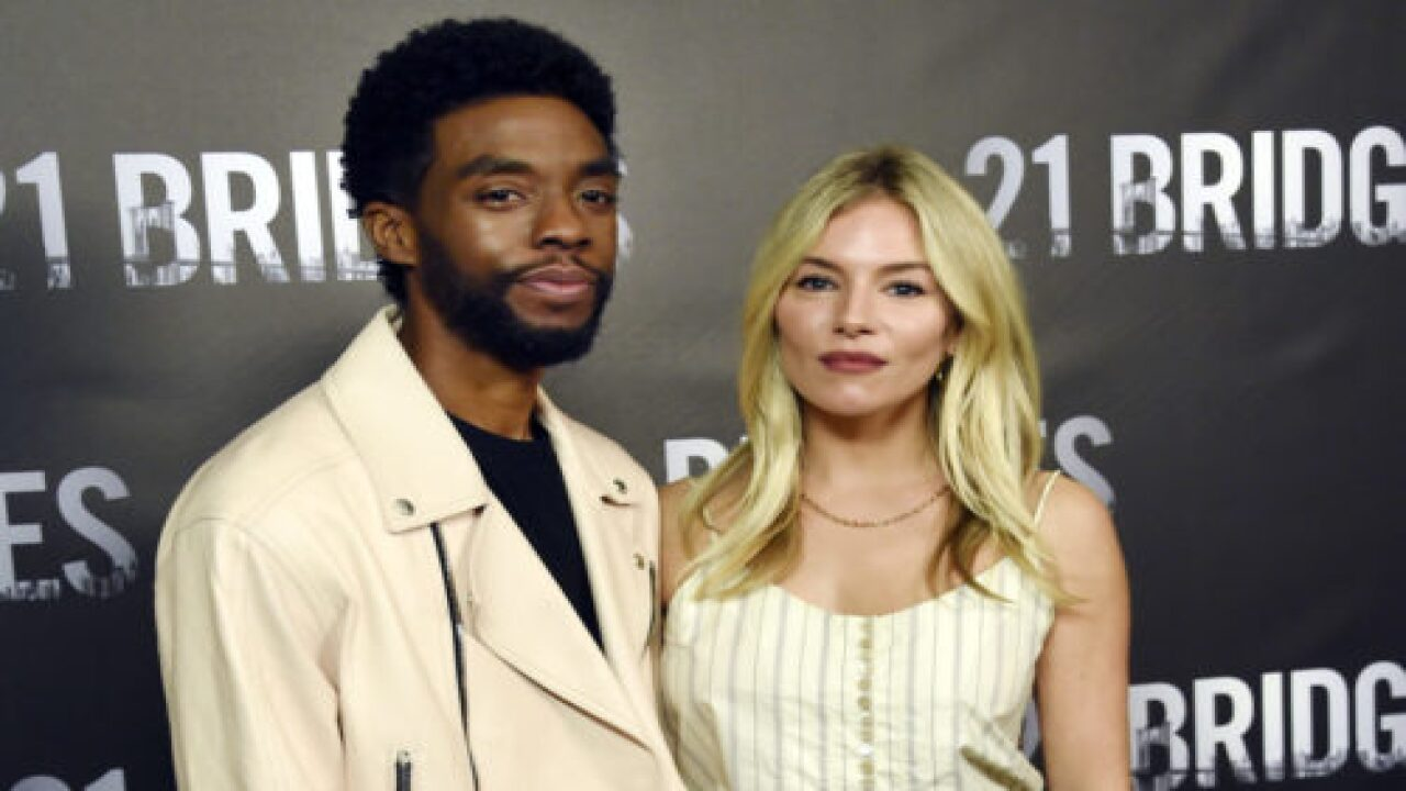 Chadwick Boseman Gave Some Of His '21 Bridges' Salary To Sienna Miller So She Could Be Paid Fairly
