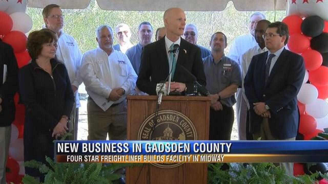 Truck Dealer Breaks Ground and Brings Jobs to Gadsden County