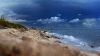 Tropical rains to start the weekend