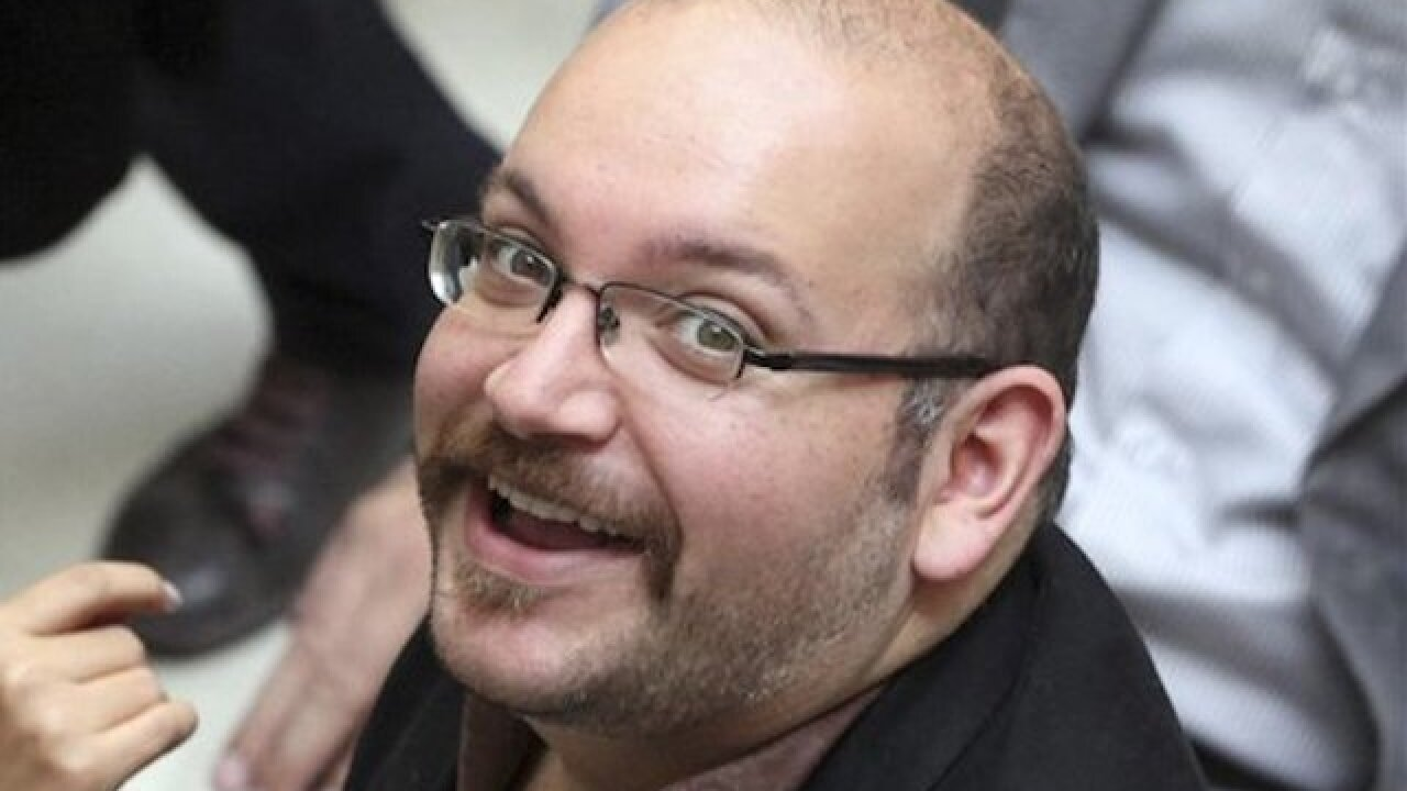 Freed reporter Rezaian feted by paper