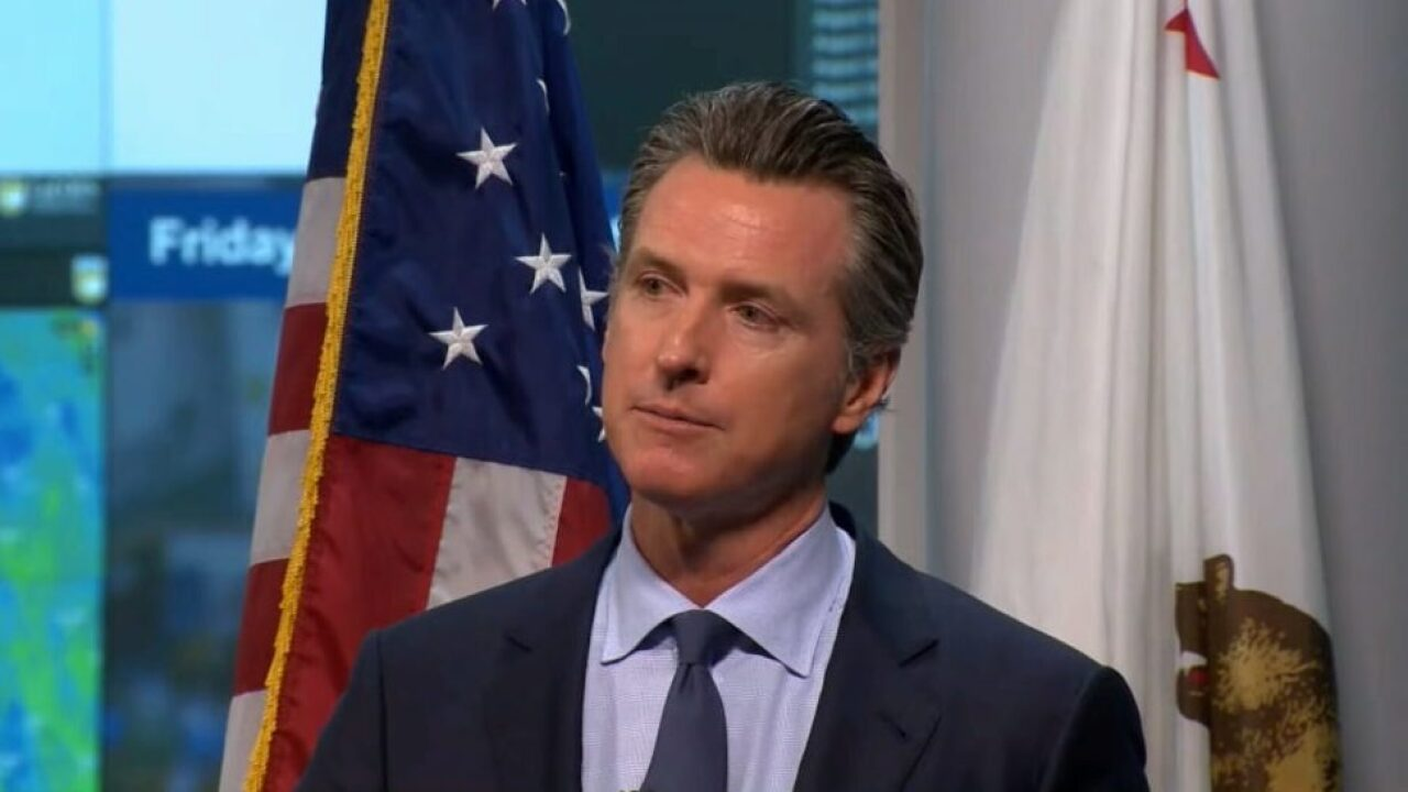Gov. Newsom calls out PG&E for its role in wildfires; utility takes safety to the sky