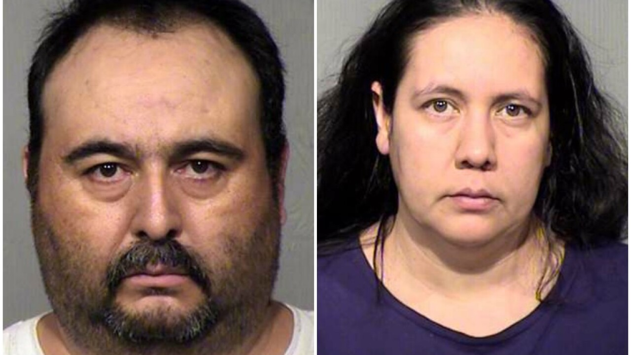 Phoenix PD: Couple forces victim at gunpoint to have sex with female suspect