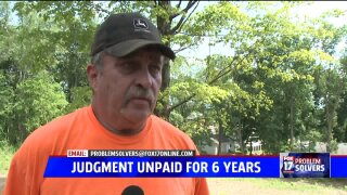 Landscaper lost judgment six years ago, still hasn't paid