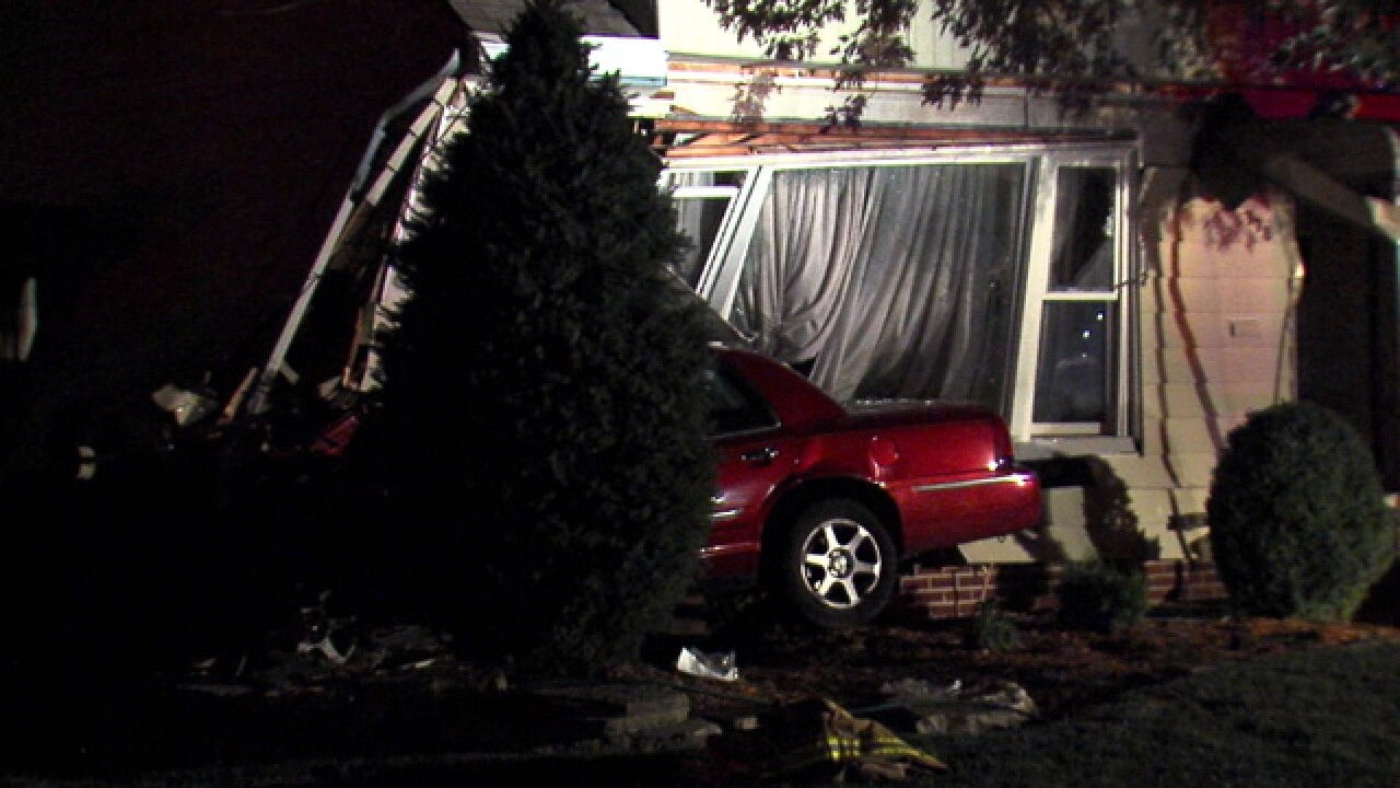 Mayor after driver hits home: 'Can't fix stupid'