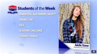 Students of the Week: Calvin Williamson and Adelle Stone of Riverside High School