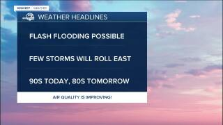 July 23 2021 5:15am forecast