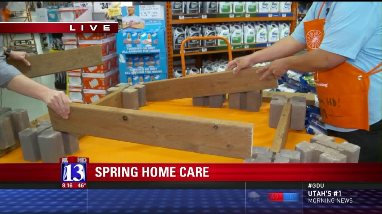 Big Budah gets spring home improvement tips from Home Depot