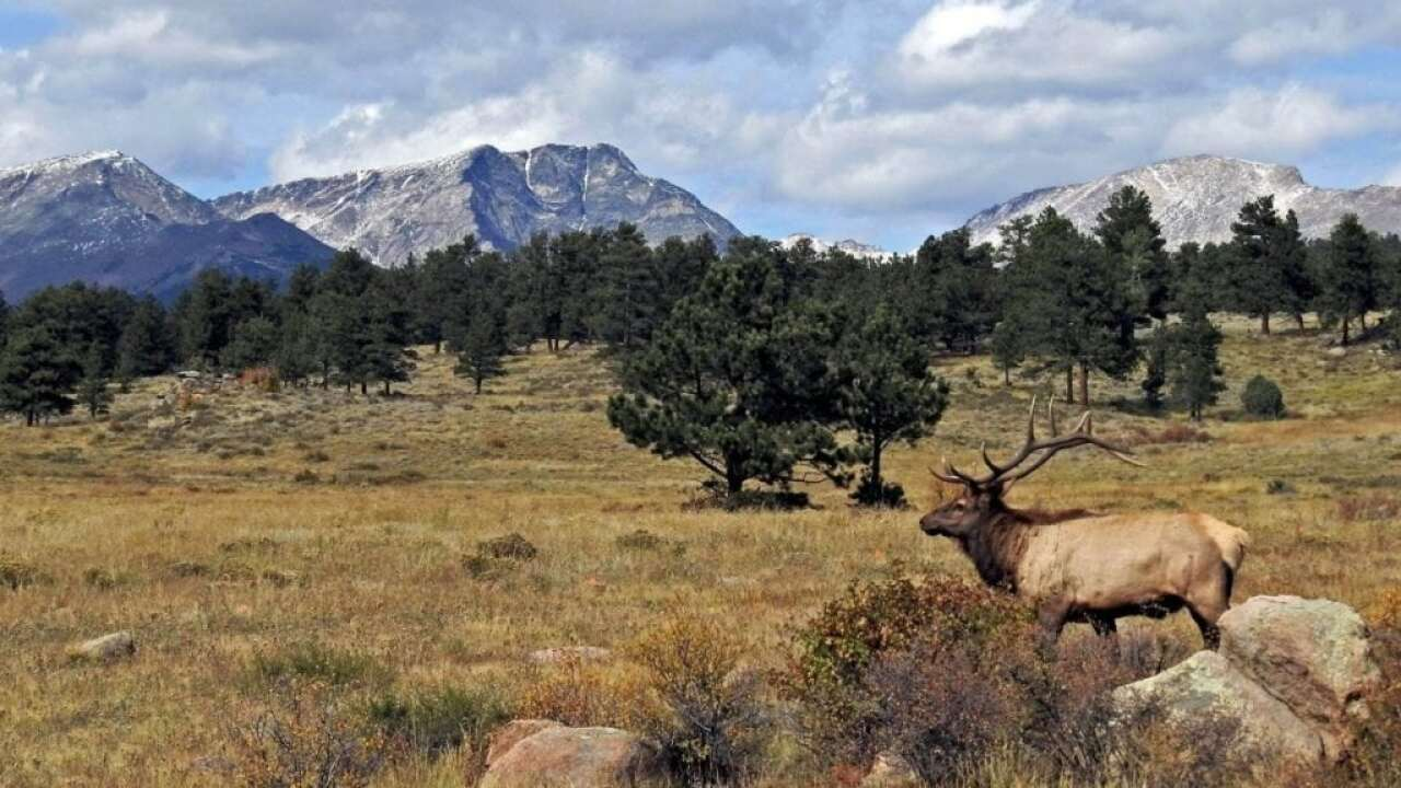 Rocky Mountain National Park partially re-opened