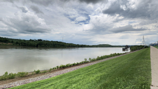 Ohio River from Indiana