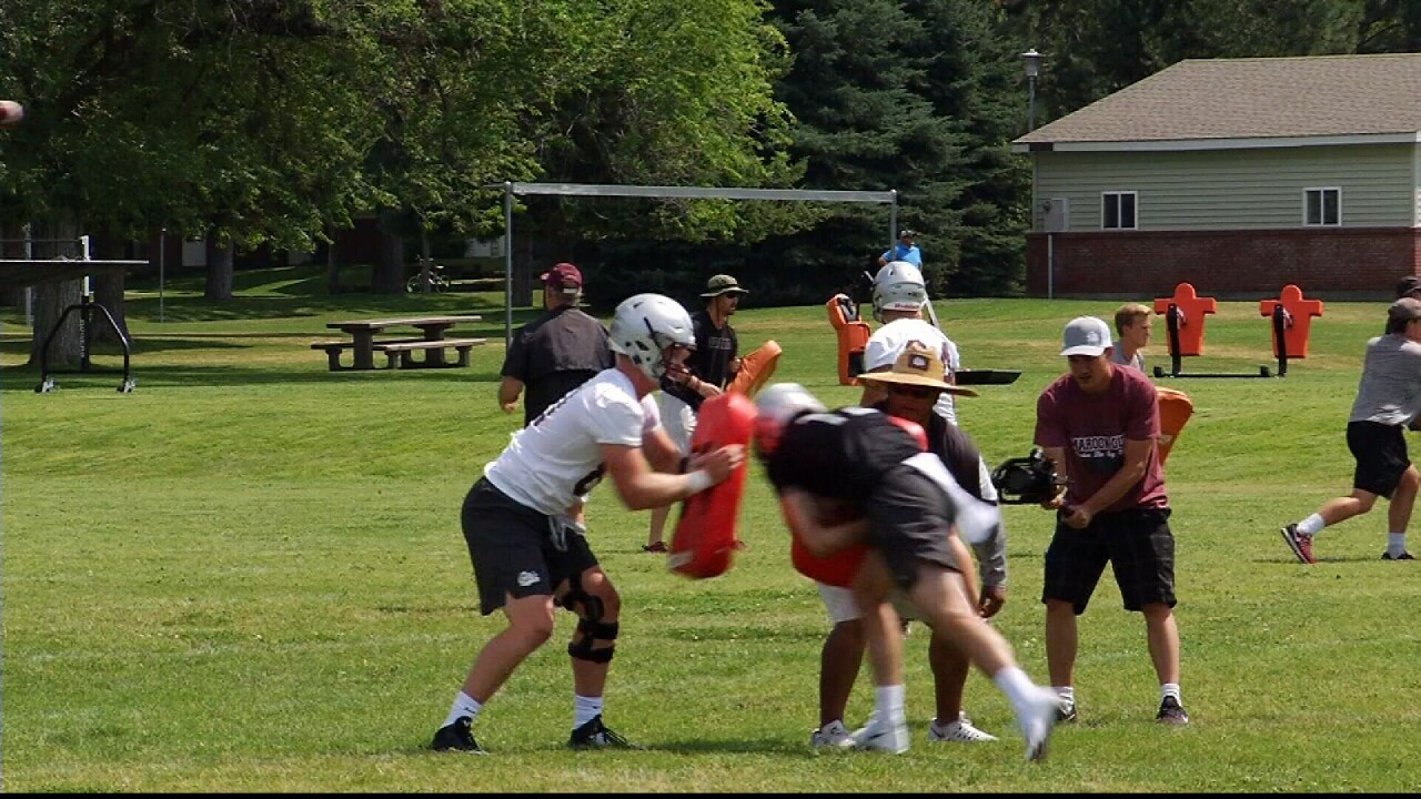 Montana Griz Fall Football Camp