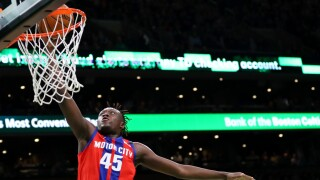Pistons rookie Doumbouya back home in France