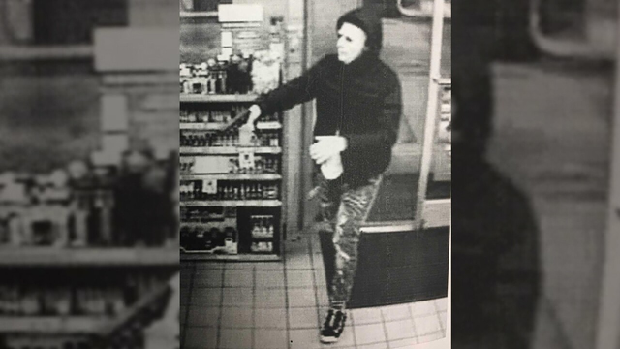 Brentwood police search for masked gunman who shot clerk