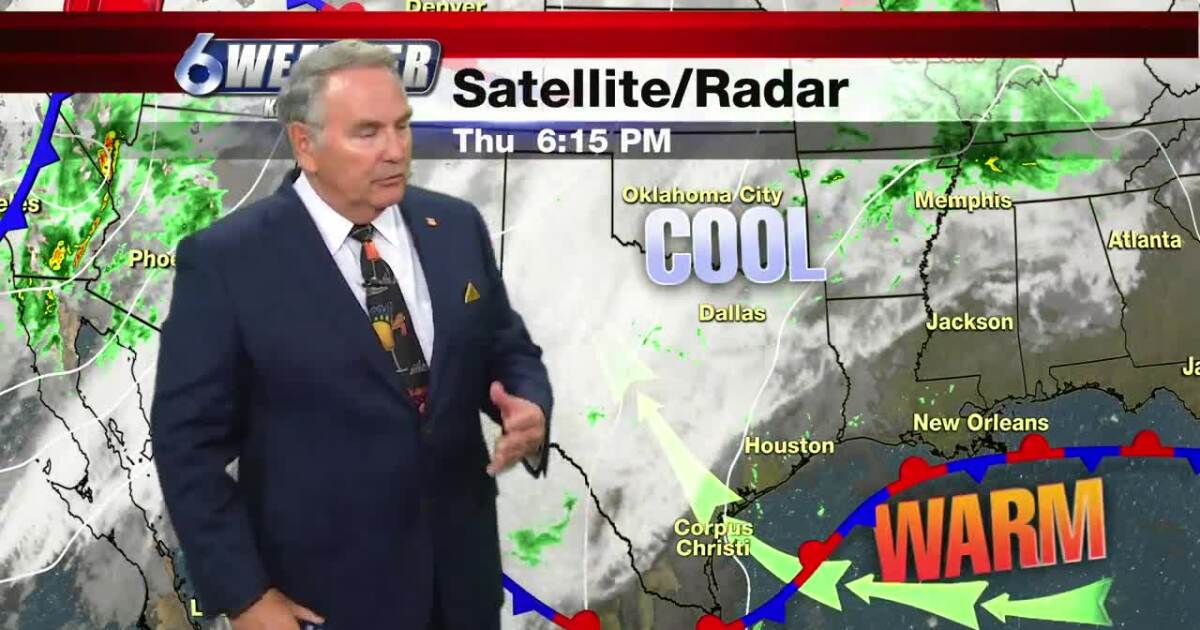 Warming trend is underway ahead of our next cold front