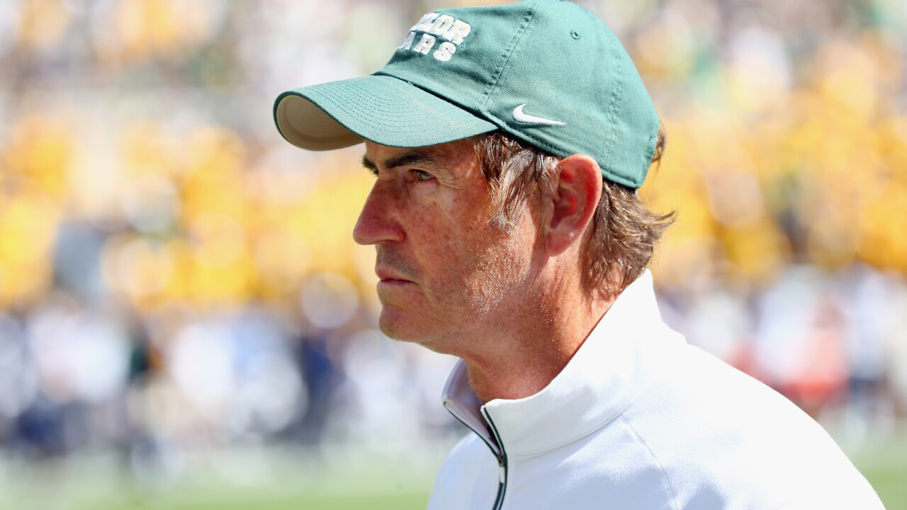 Art Briles to coach high school football 3 years after he was fired over Baylor sexual assault scandal