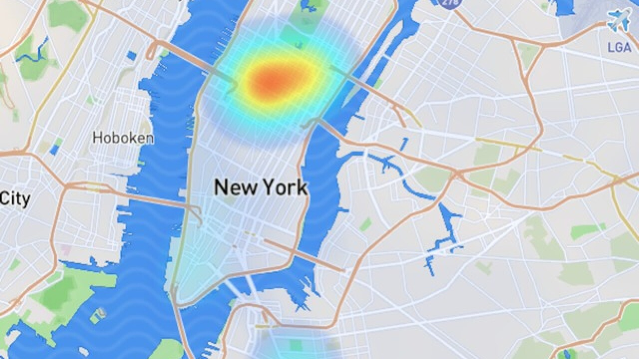 Snapchat's mapping technology vandalized, New York changed to anti-Semitic slur