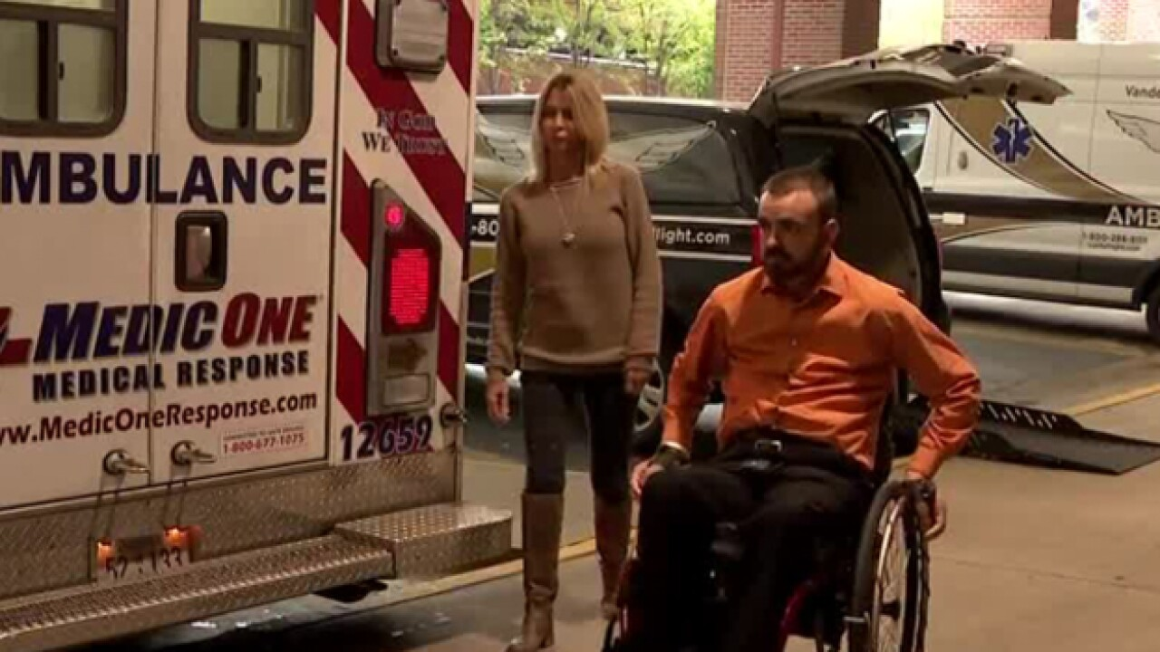 Nashville Fire Hockey raises money for injured LifeFlight paramedic