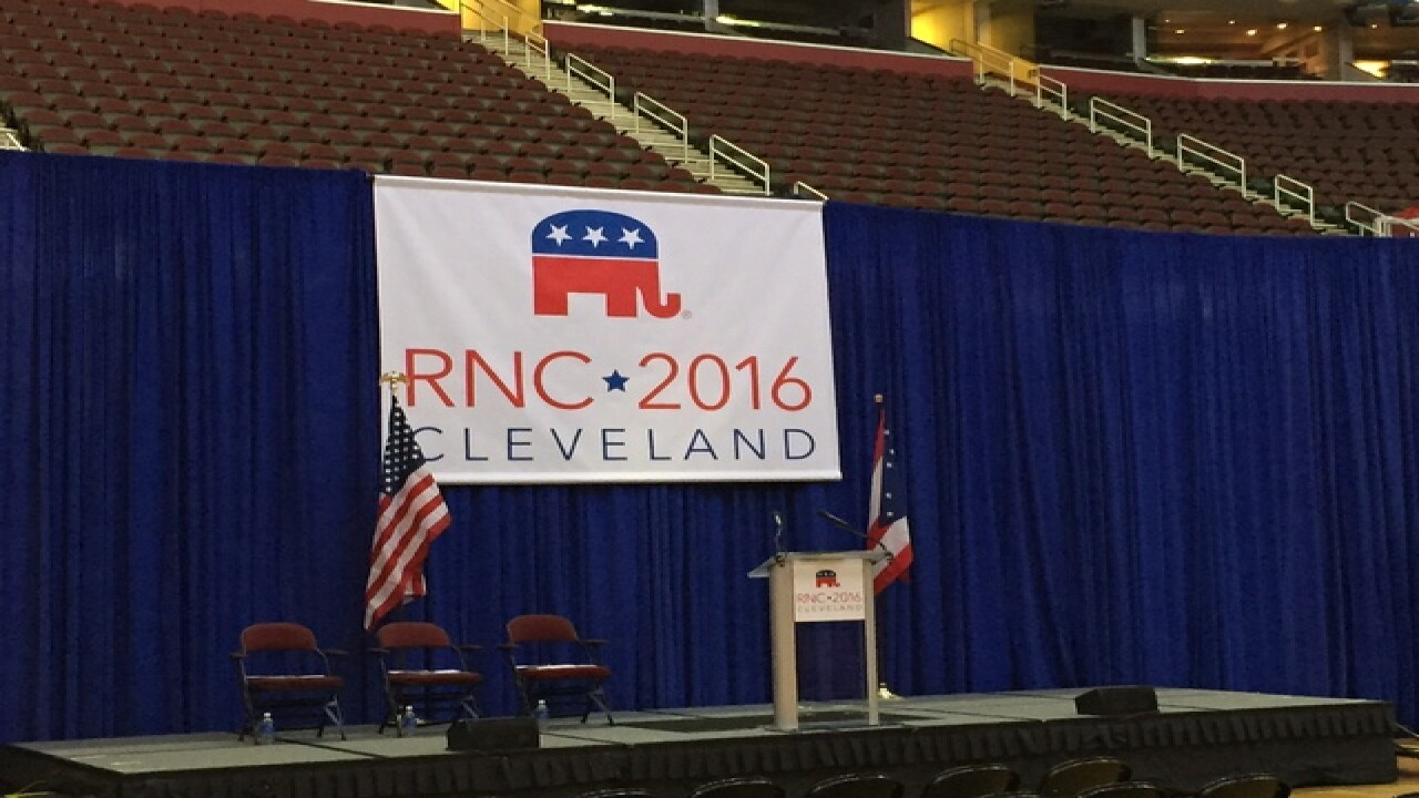 RNC hosts media for convention walk-through