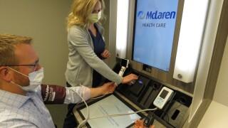 McLaren and Walgreens Open Health Clinic in Okemos