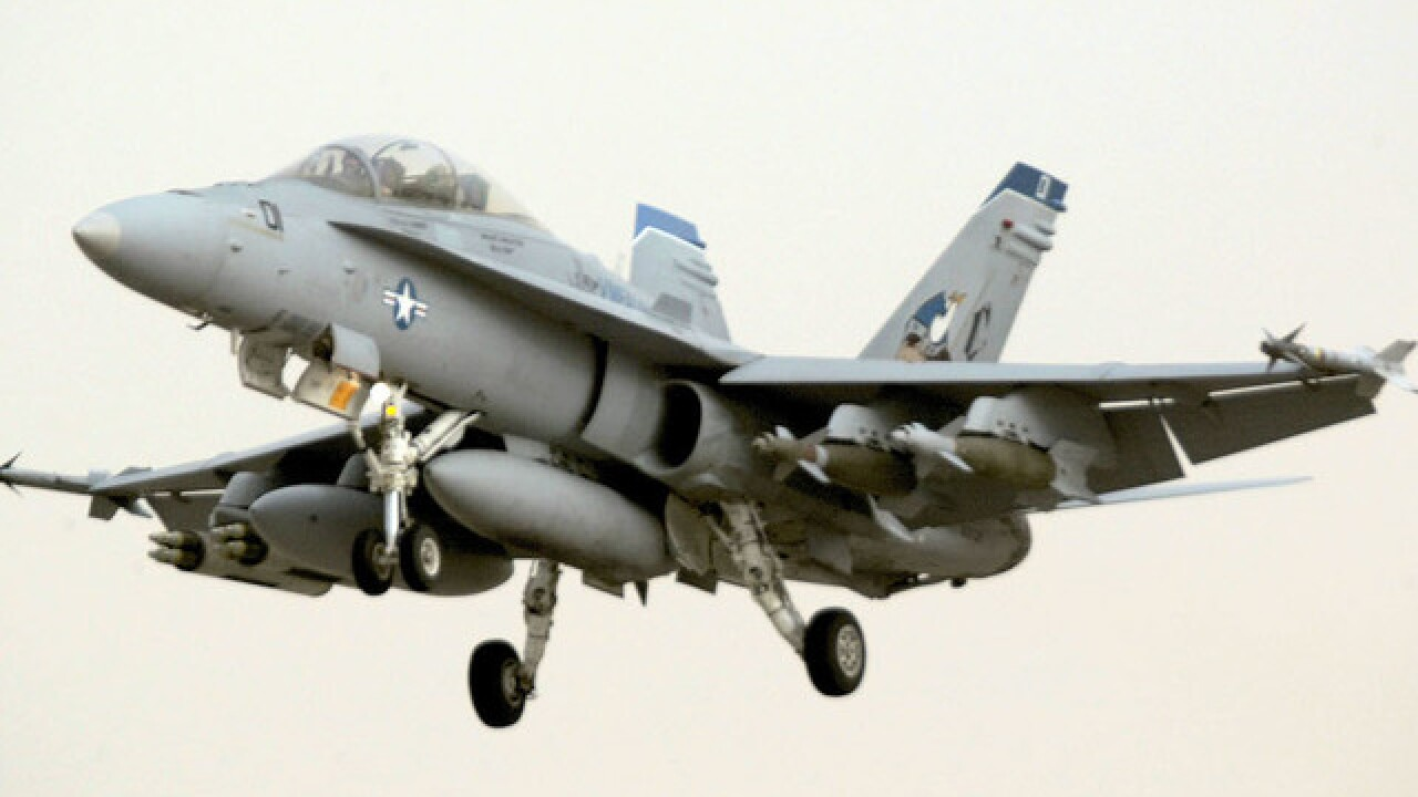 Navy jet crashes near Key West, two died after being ejected from plane