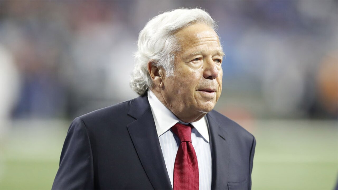 Patriots' owner Robert Kraft enters plea of not guilty in Florida solicitation charge