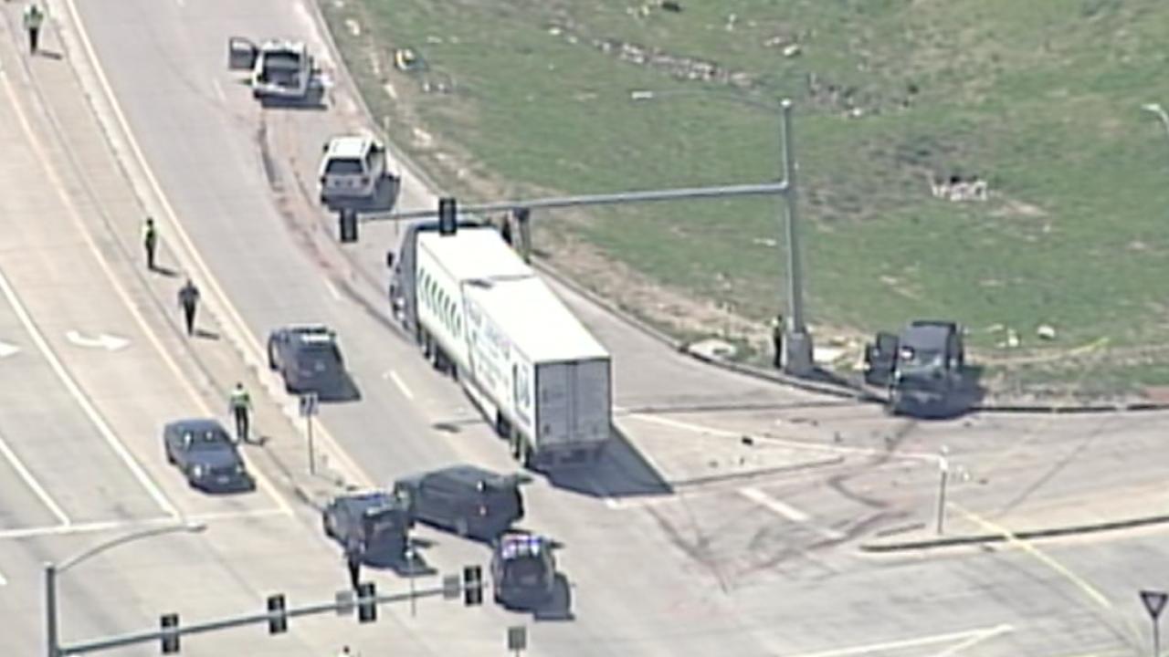 I-35 and Front Street crash