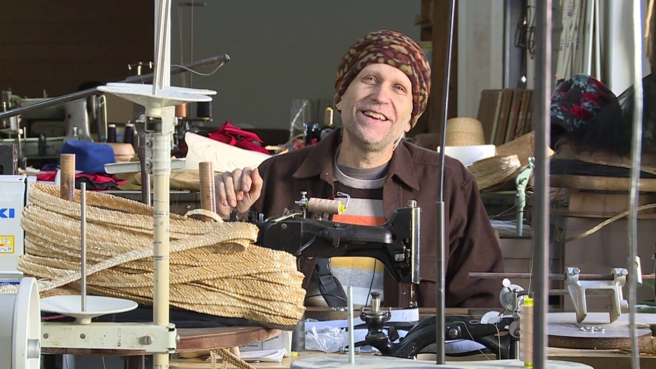 He makes hats for movie stars, but that's not what inspires IgnatiusCreegan