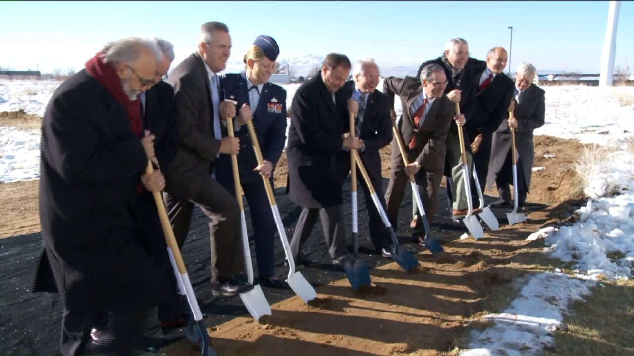 Officials break ground on aerospace research facility at Hill Air Force Base