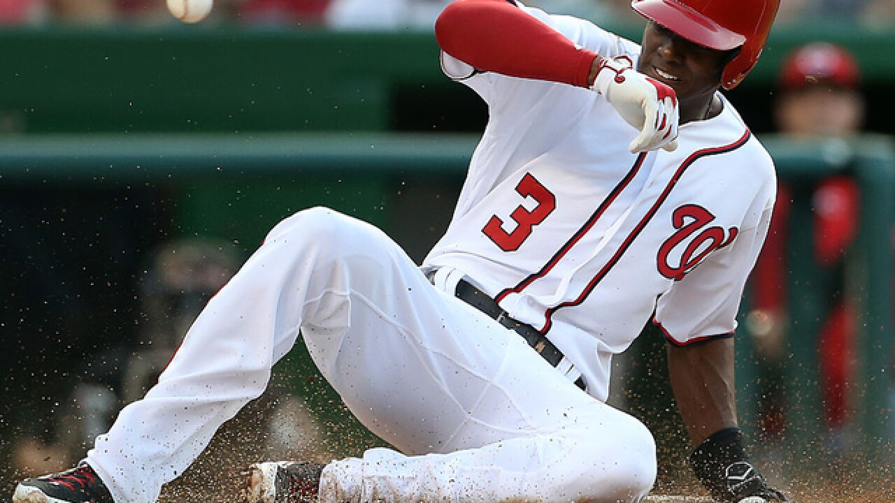 Espinosa hits slam, 3-run HR as Nationals crush Reds 13-4