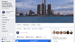 Young mechanic starts unemployment help page for Michiganders
