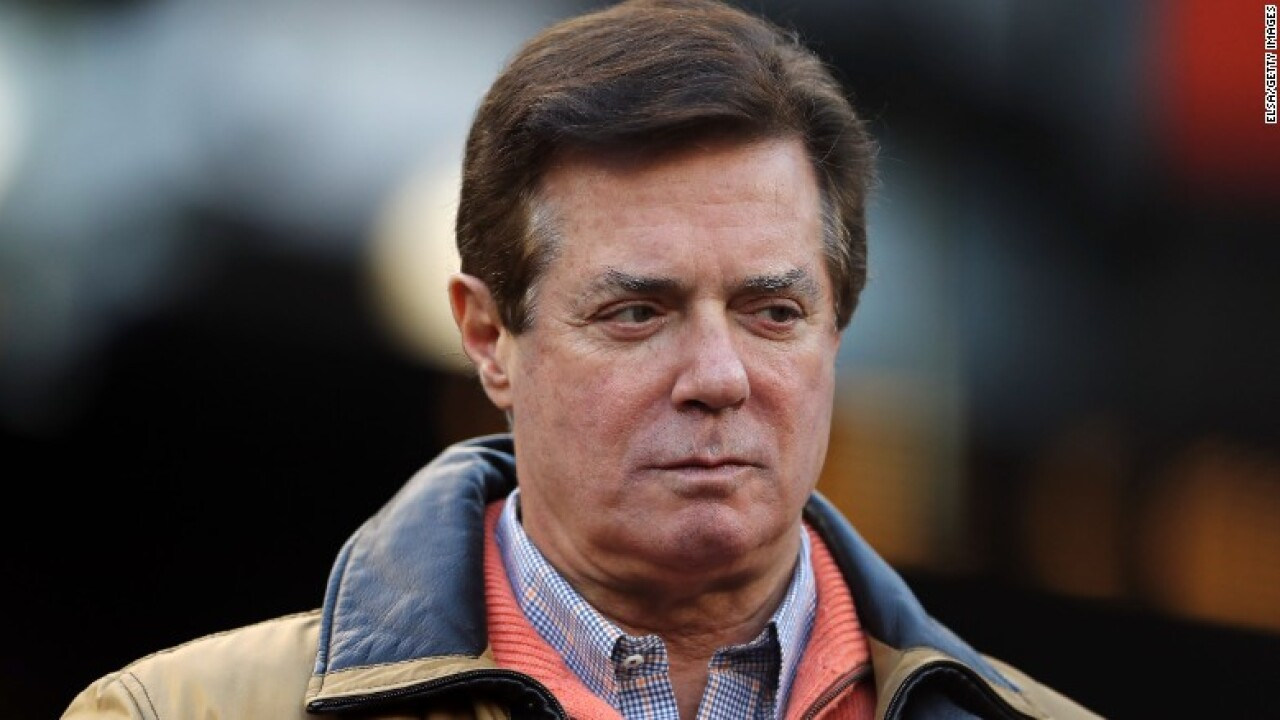 Paul Manafort and special counsel close to deal for guilty plea