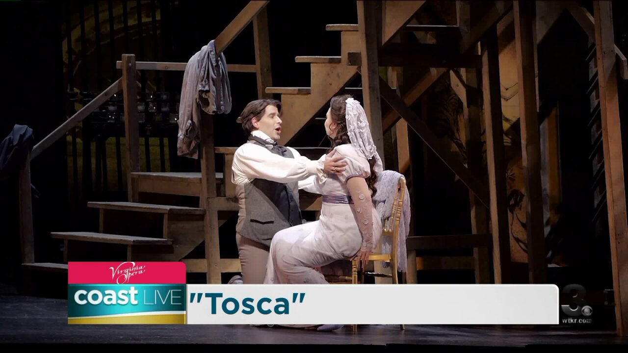 "Previewing Virginia Opera's production of ""Tosca"" on Coast Live"