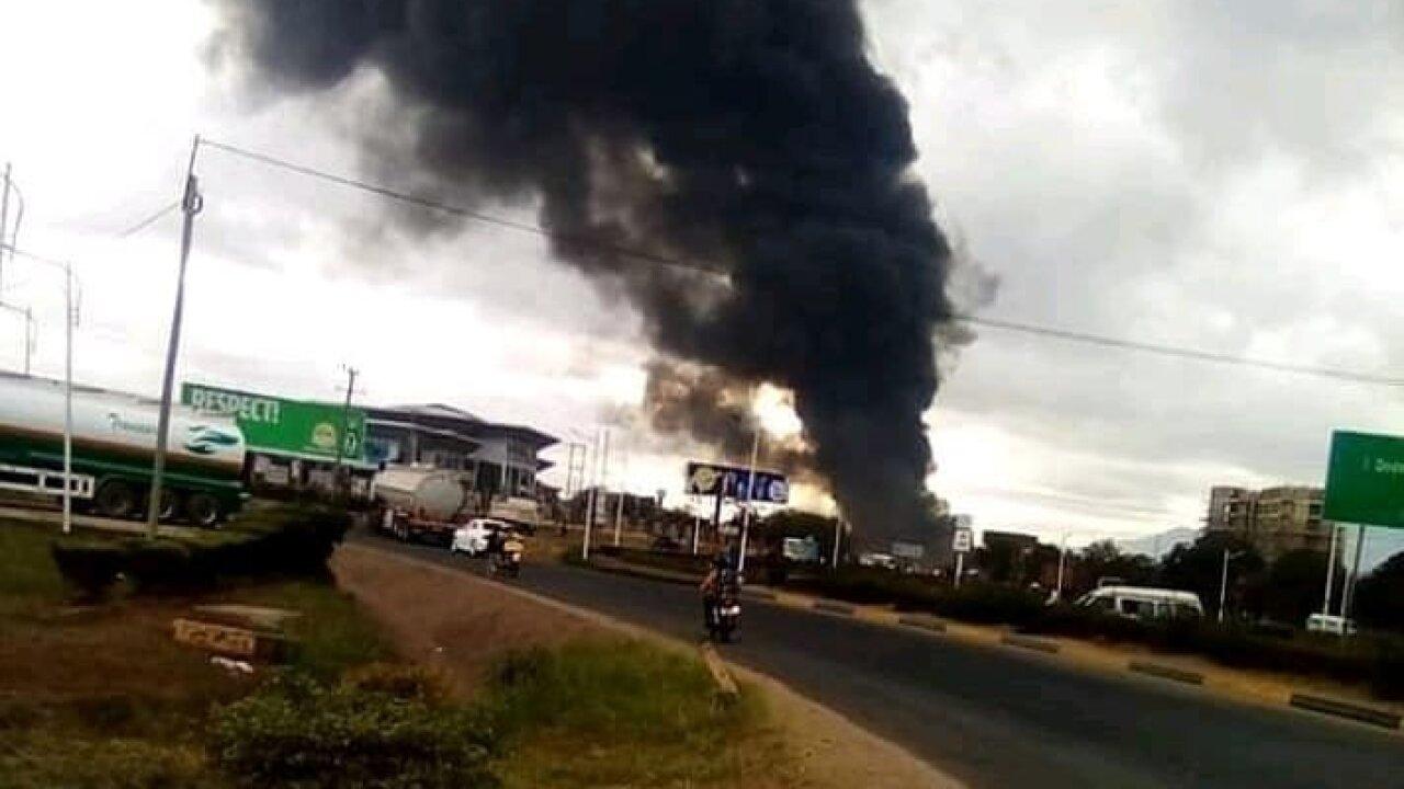 Tanzania explosion