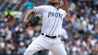 San Diego Padres trade All-Star closer Brad Hand to Cleveland Indians